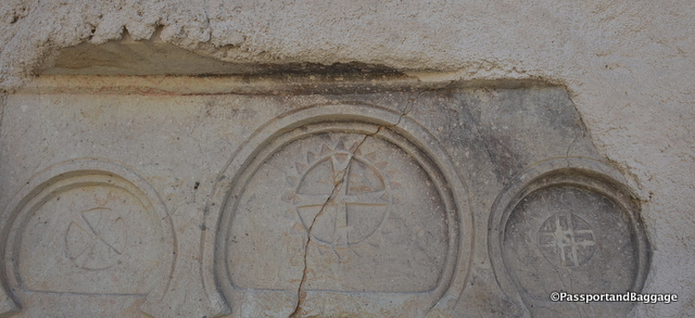 Exterior decorations of churches of Goereme