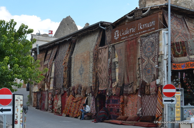 Carpets are big all over Turkey, but especially in this area
