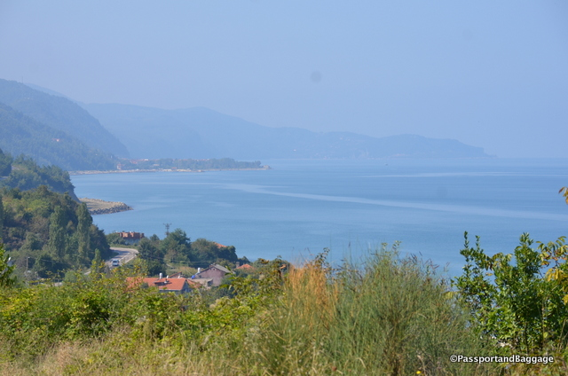 A view of the Black Sea between Sinop and Arabo