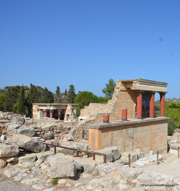 Attitudes towards Evans' reconstruction of Knossos among contemporary archaeologists are largely hostile – some regard his actions as tantamount to archaeological delinquency. But visitors – while pointing out that it's not difficult to distinguish between original temple features and Evans' restorations – will often argue that the reconstructed features are visionary in the way that they yield a unique and tangible insight into life inside the hub of Minoan culture, one that no mere ruins could ever offer.