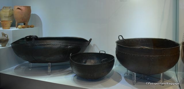 Immense cooking pots