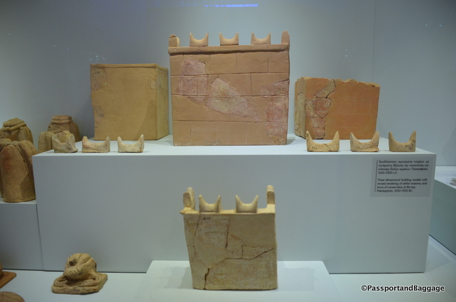 The Horns of Consecration on everything, found in the Archeology Museum of Iraklia
