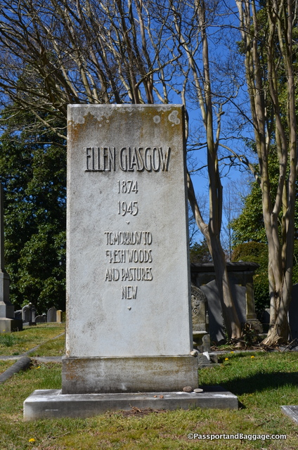 Ellen Anderson Gholson Glasgow (April 22, 1873 – November 21, 1945) was an American novelist who portrayed the changing world of the contemporary South.