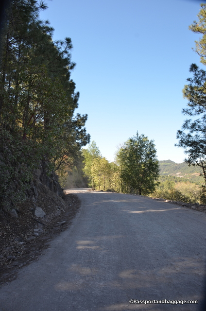Road to Urique, Mexico