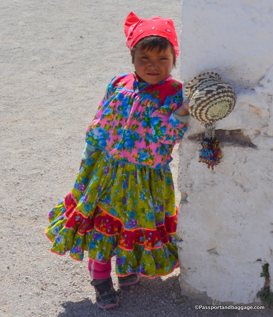 A Tarahumara girl of Creel