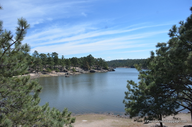 Lake Arareko is on the Indian land, it is a beautiful high country lake.