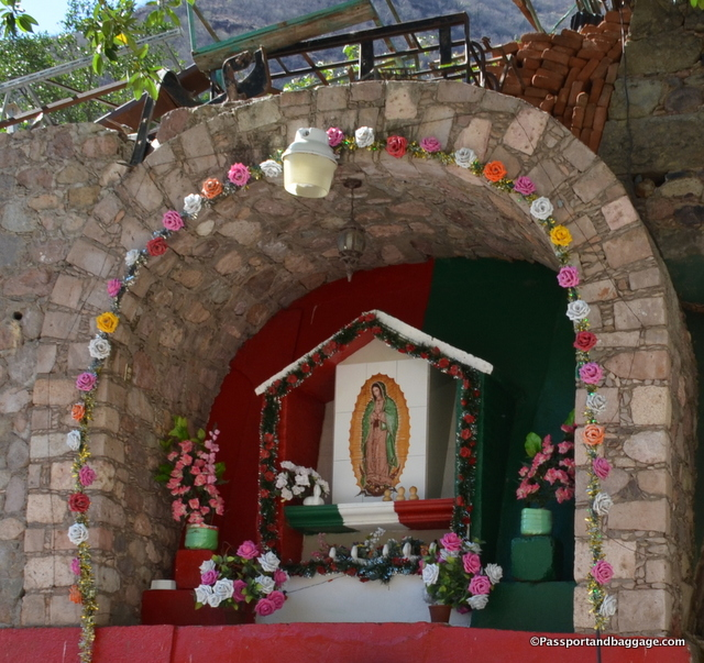 The major Lady of Guadalupe shrine in Batopilis