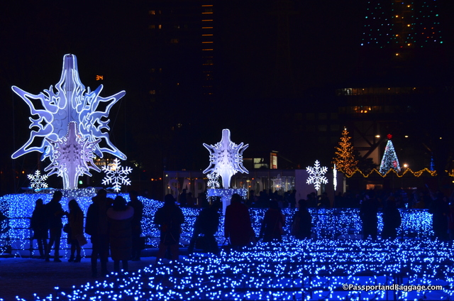 Christmas in Sapporo Japan