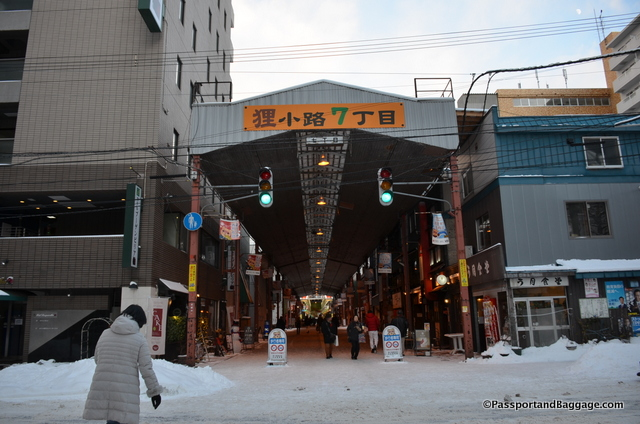 covered shopping malls in Sapporo