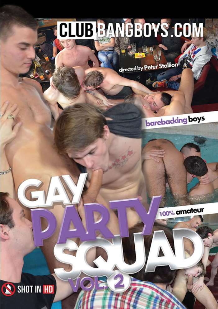 ClubBangBoys.com Release Gay Party Squad Vol 2