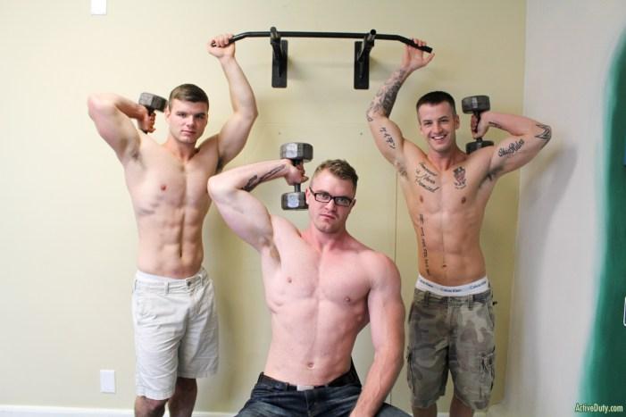 Active Duty: Ivan James, Quentin Gainz & Scott Ambrose