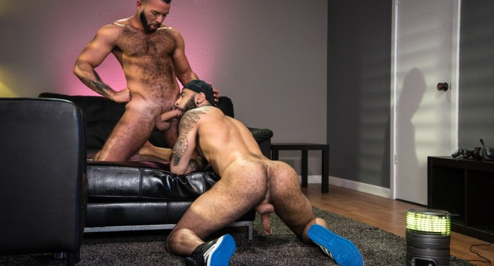 Gaymers: Rikk York, Fernando Del Rio