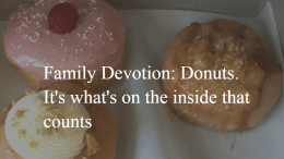 family devotion the inside counts