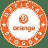 Orange blog logo