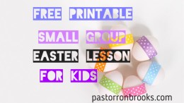 Easter Small Group