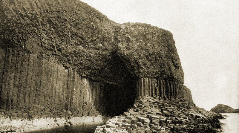 Fingal's Cave Scotland about 1892