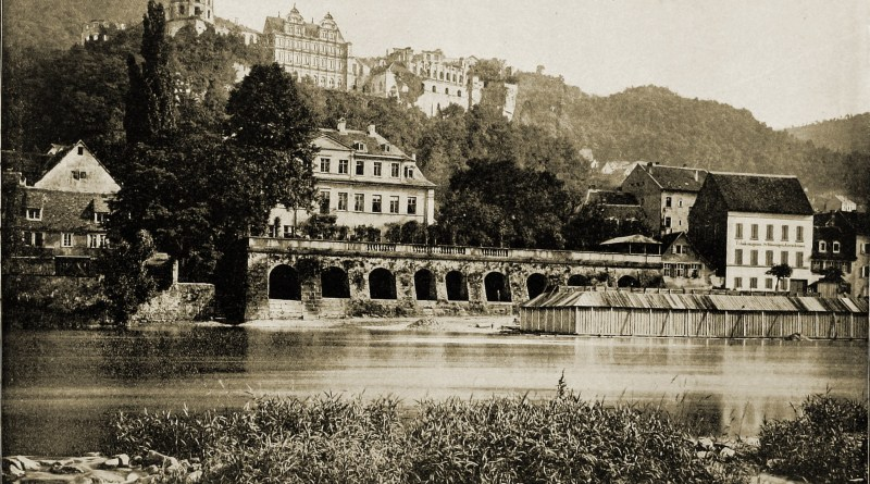 Heidelberg Castle Germany about 1892