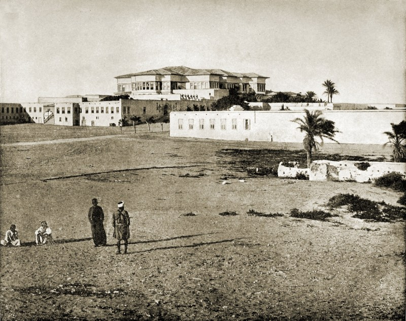 Palace and Harem Alexandria Egypt about 1892