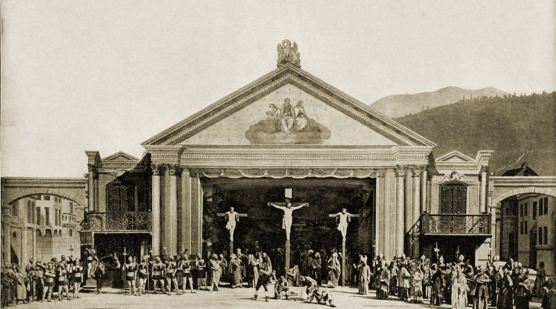 Passion Play Oberammergau Germany 1890