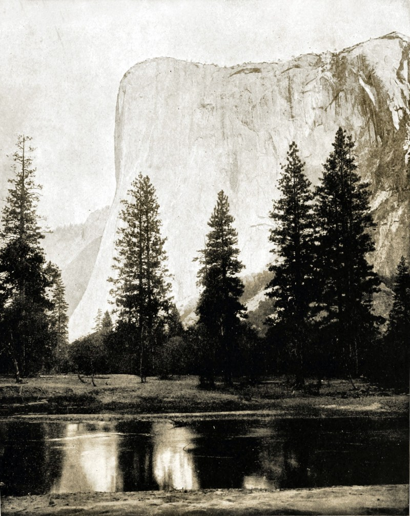 El Capitan, Yosemite Valley, California, USA about 1892