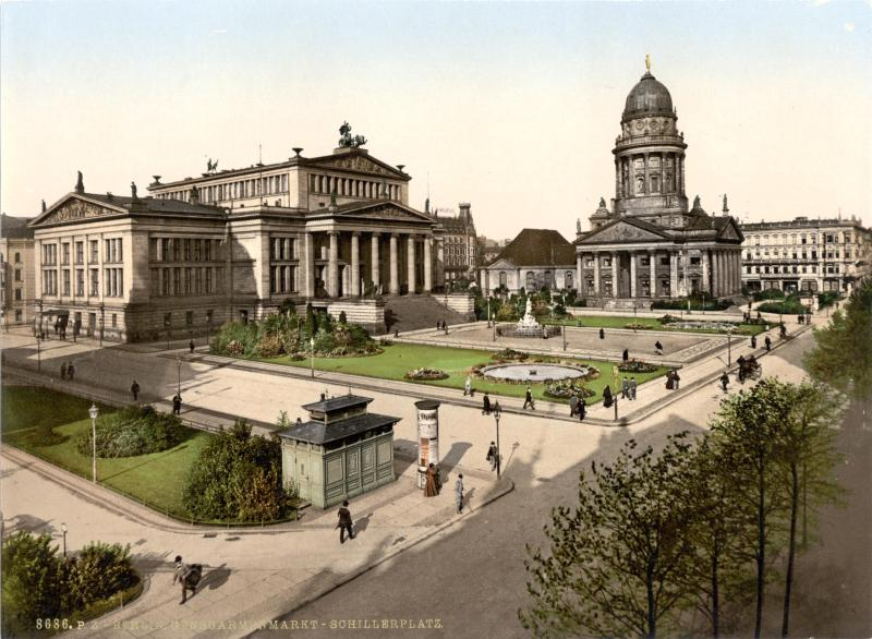 Gendarmenmarkt Berlin Germany about 1895