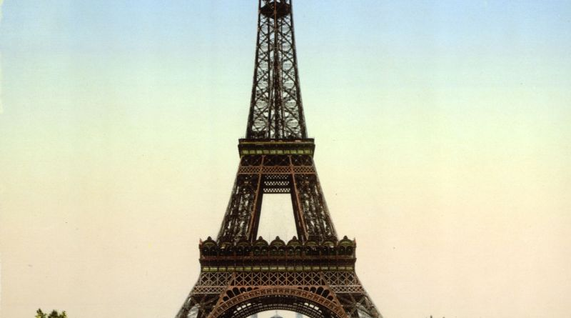 Eiffel Tower Paris 1895