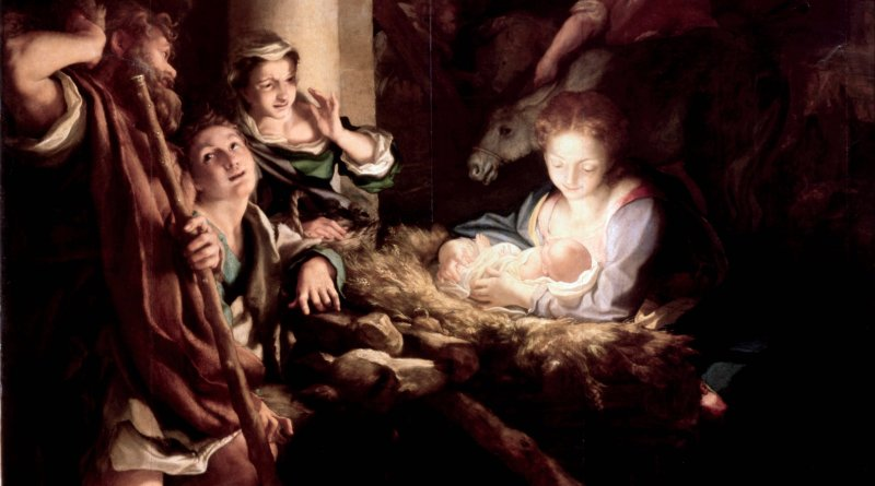 Correggio The Holy Night