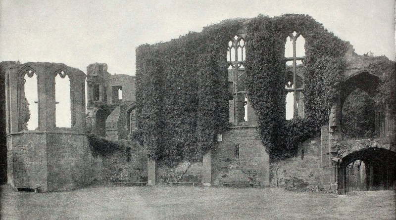 Kenilworth Castle England about 1892