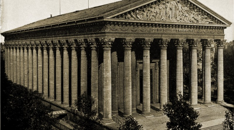 La Madeleine Paris about 1892