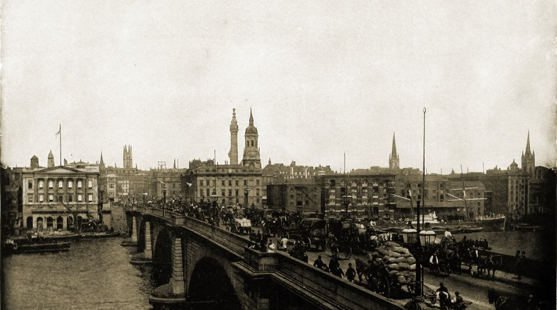 London Bridge about 1892