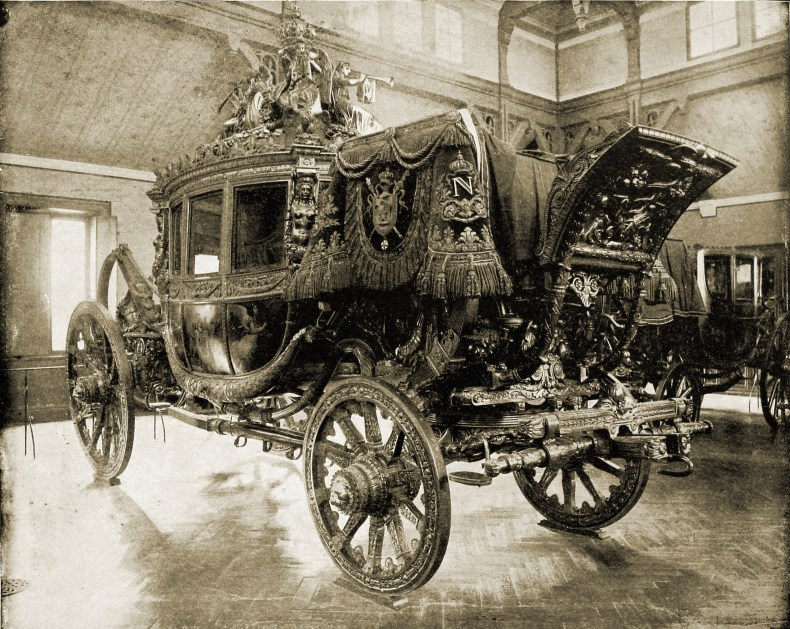 Napoleon's Carriage Versailles France about 1892