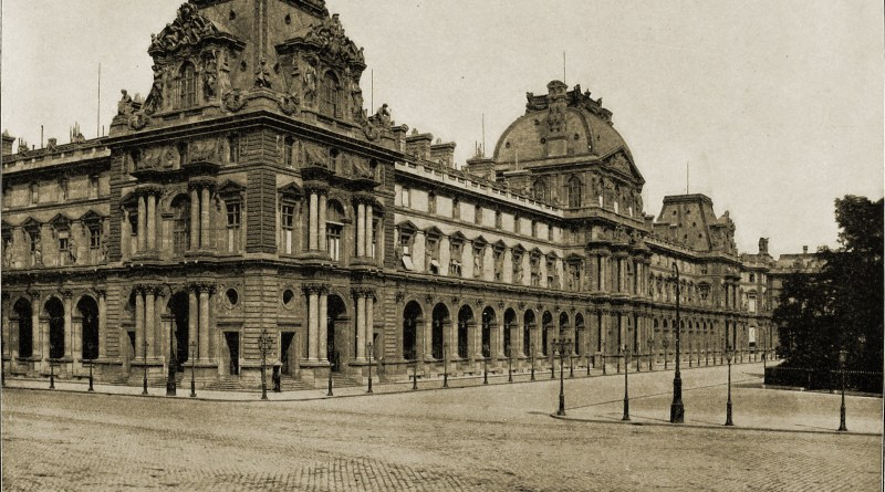 The Louvre Paris about 1892