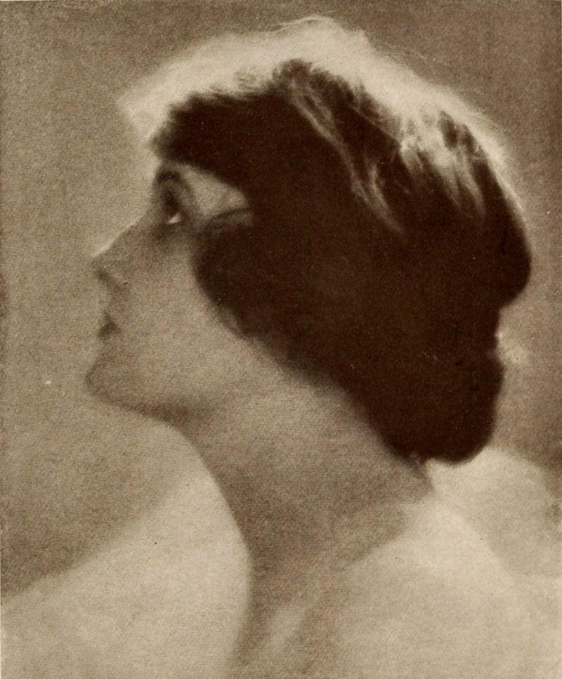 Study in profile (Miss Fales) by Lou Sweet about 1923
