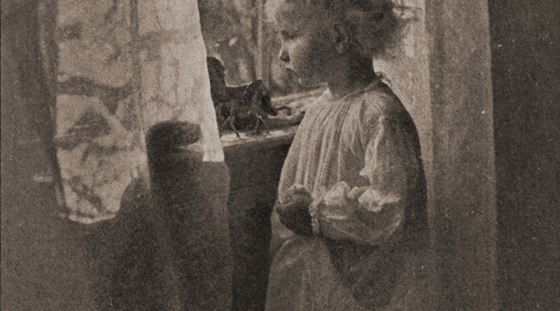 Bed-time by Frances Allen about 1908