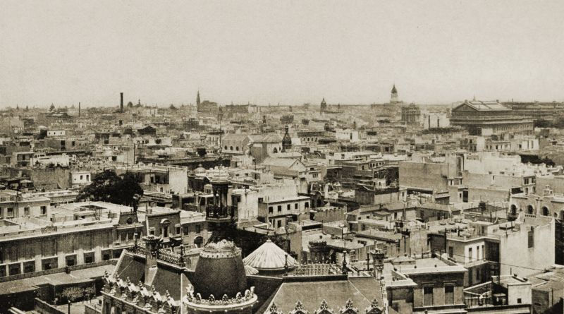 General view of Buenos Aires about 1917