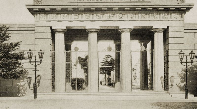 Entrance to the Recoleta, Buenos Aires 1917