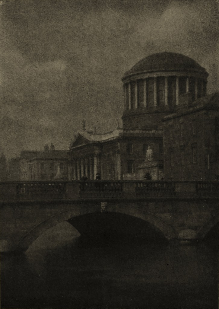 Four Courts, Dublin, Ireland by D. Mahony about 1908