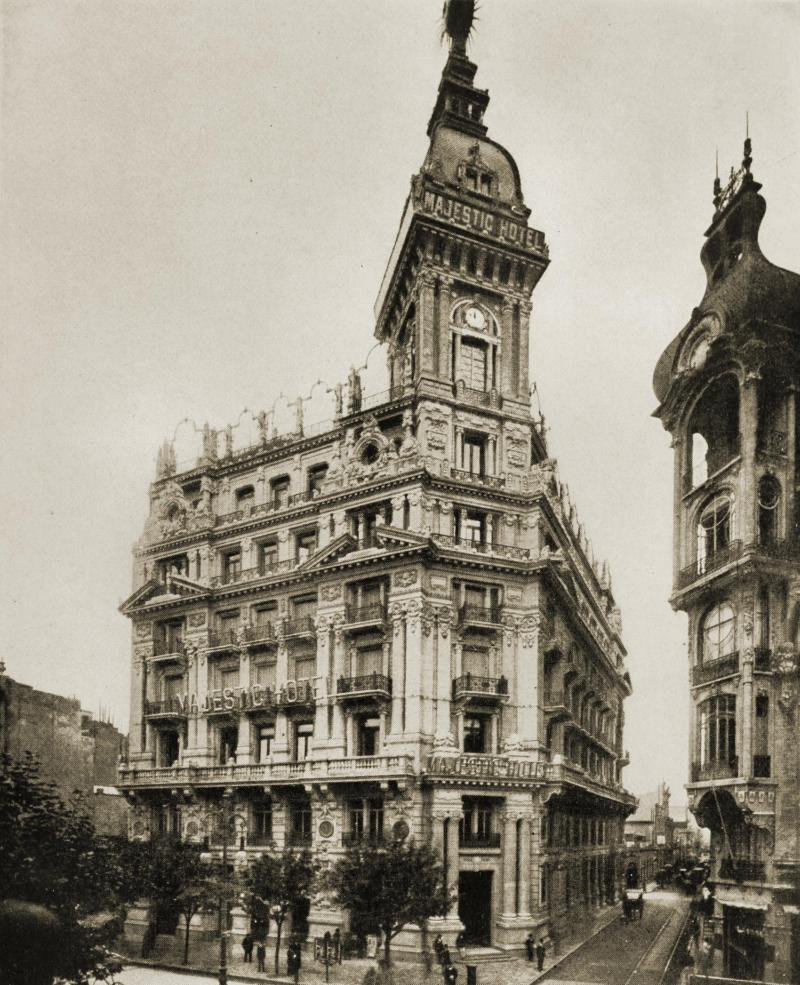 Majestic Hotel, Buenos Aires, Argentina about 1917