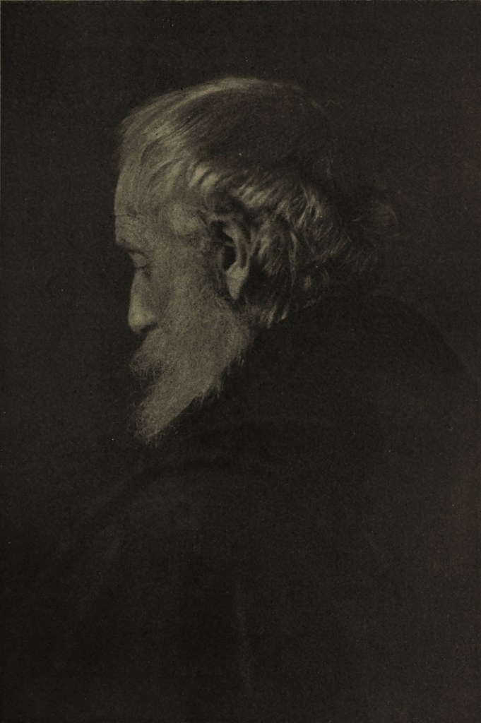Portrait of an old man by Jane Reece about 1908