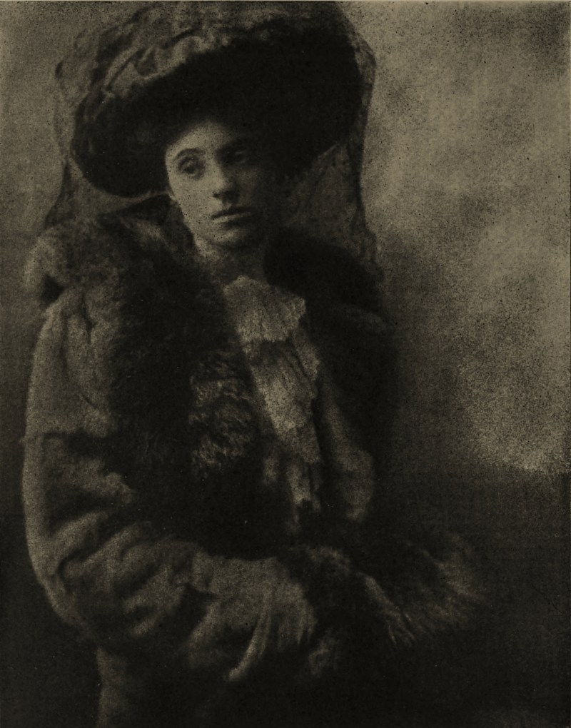 Portrait study by Hilda Stevenson about 1908