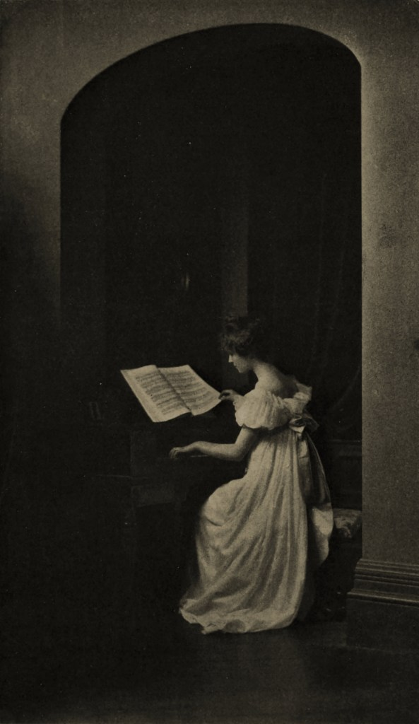Reading the Notes by William Gill about 1908