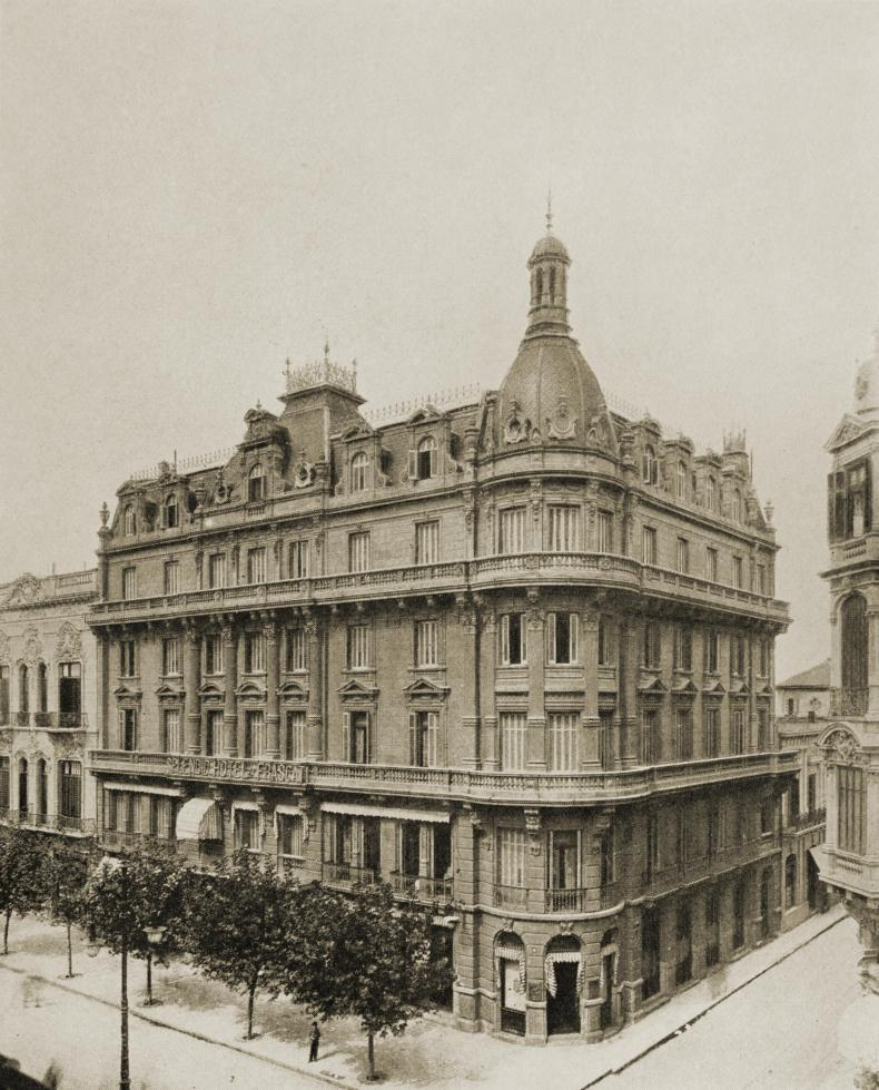 Splendid Hotel Frascati, Buenos Aires, Argentina about 1917