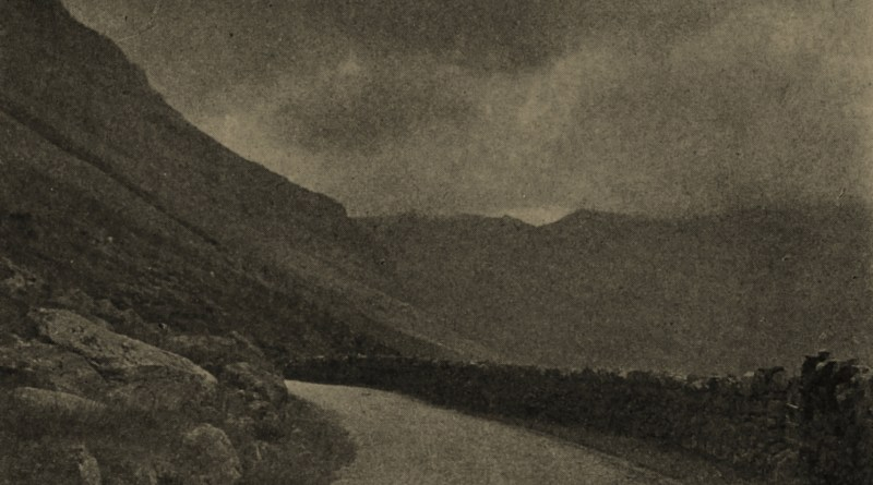 The Nant Franton Pass (North Wales) by V. Serin about 1908