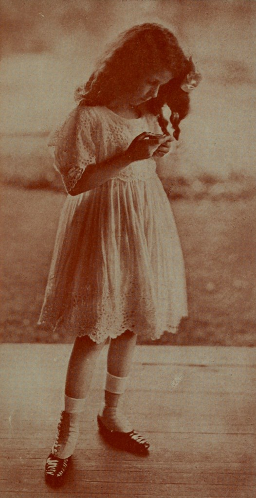 The miniature by Curtis Bell about 1908