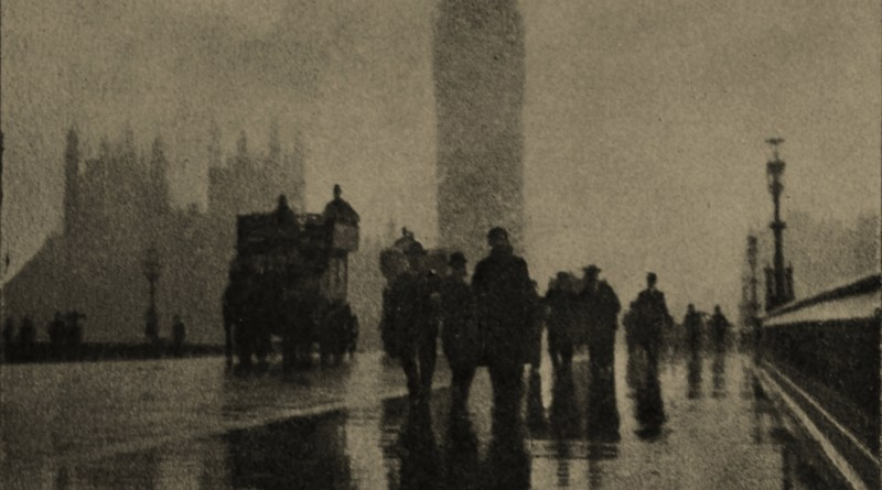 Westminster Bridge, London, England by Max Toch about 1908