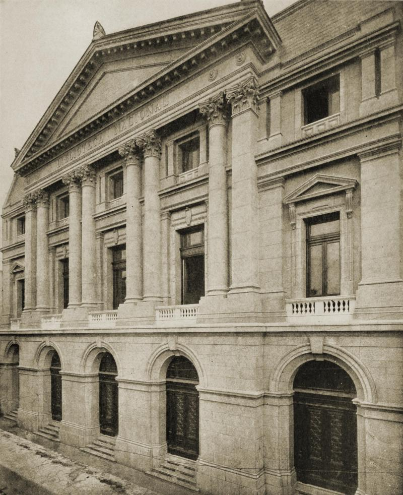 National Library, Buenos Aires, Argentina about 1917