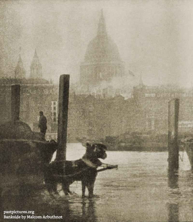 Bankside by Malcom Arbuthnot about 1908