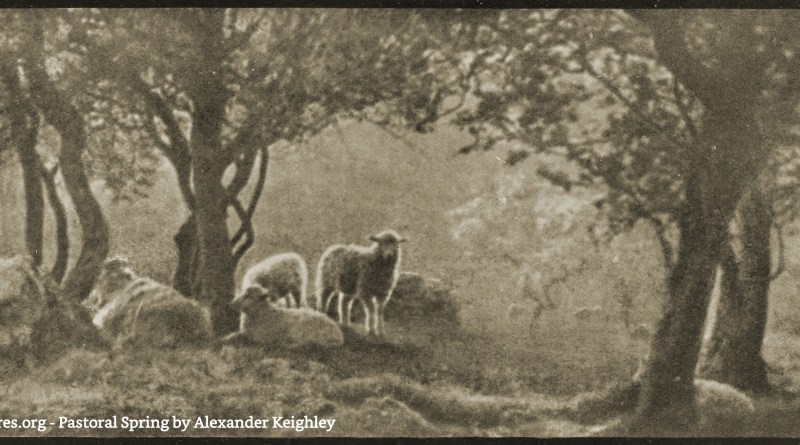 Pastoral Spring by Alexander Keighley 1907