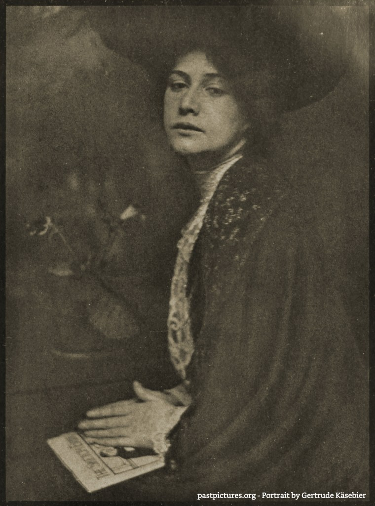 Portrait by Gertrude Käsebier about 1902