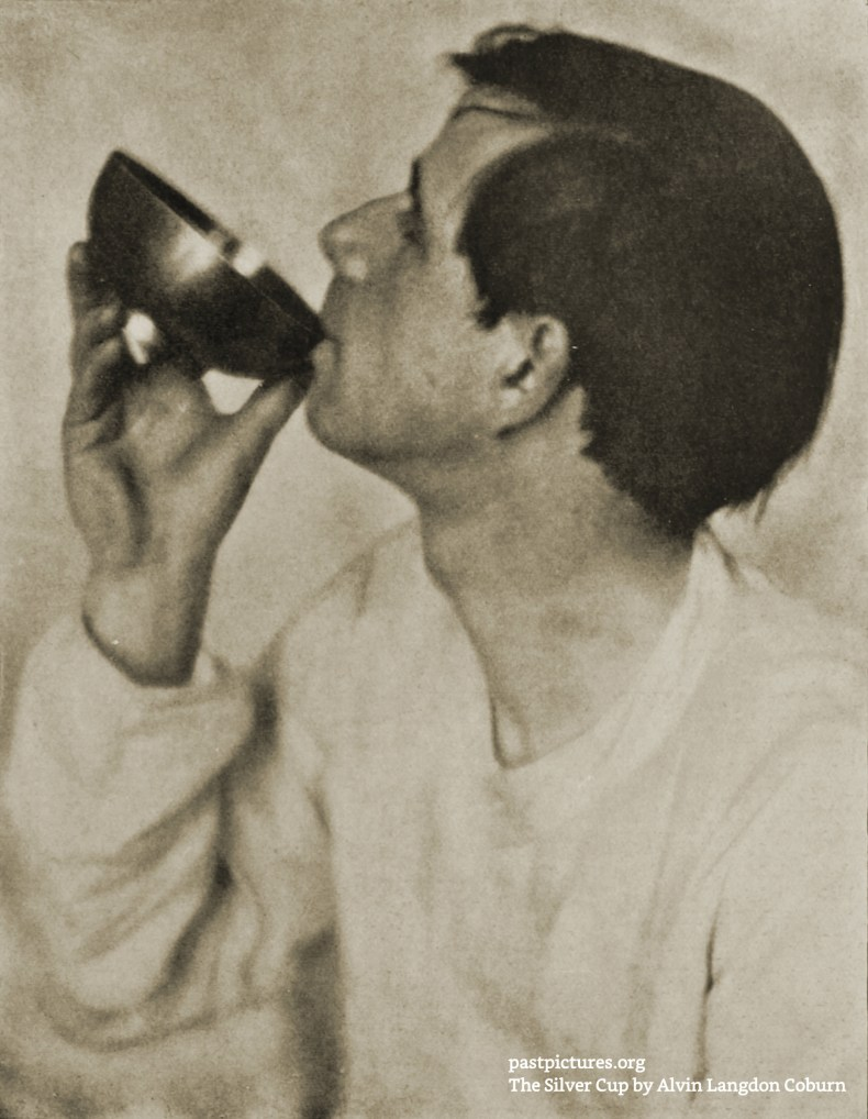 The Silver Cup by Alvin Langdon Coburn about 1908